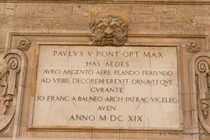 Plaque gravée hôtel des monnaies Avignon