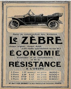 Zebre- Economie - Résistance 1913