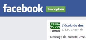 Facebook Yassine
