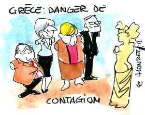 Grèce-contagion