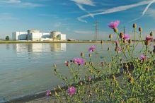 Centrale nucléaire de Fessenheim et le Grand Canal d'Alsace, Haut-Rhin (68) // Fessenheim nuclear power plant and Grand Canal d'Alsace Haut-Rhin (68)