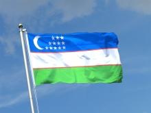 Uzbek flag